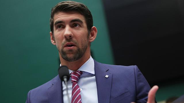 Speaking at a hearing, Michael Phelps said he felt at least one doping cheat had competed in each of his international races.