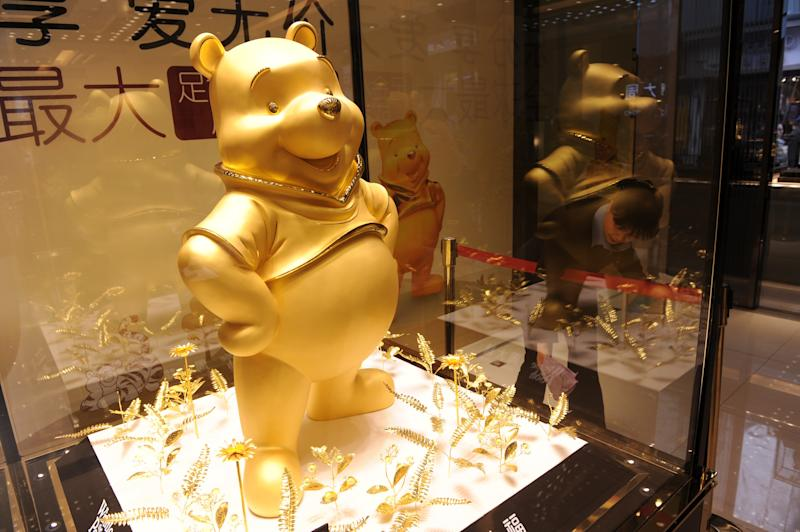 Chinese censors scrub pictures of 'Winnie the Pooh' from social media