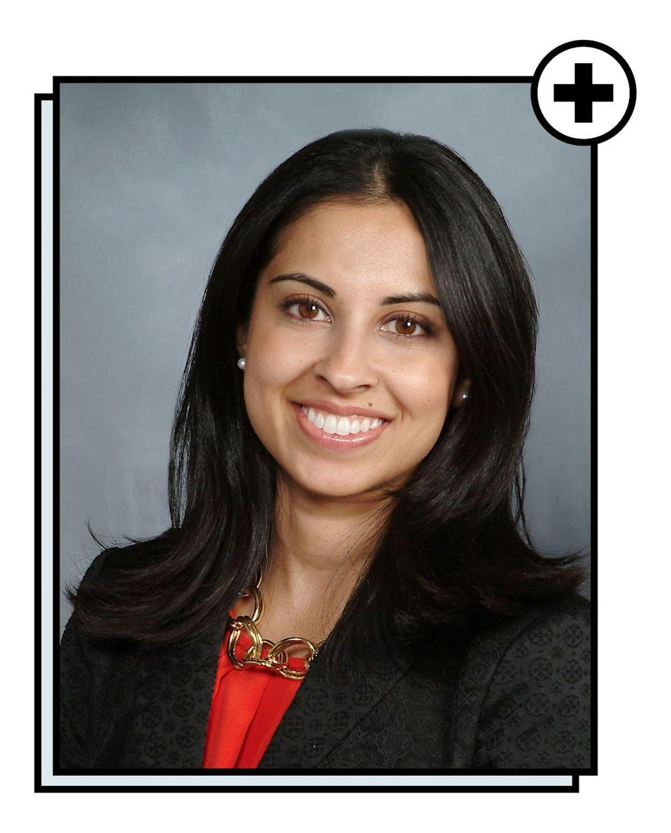 """<p>Rekha Kumar, MD, MS, is an assistant professor of medicine at <a href=""""https://weill.cornell.edu/"""" rel=""""nofollow noopener"""" target=""""_blank"""" data-ylk=""""slk:Weill Cornell Medical College"""" class=""""link rapid-noclick-resp"""">Weill Cornell Medical College</a> and an attending endocrinologist specializing in the diagnosis and treatment of various endocrinology disorders, including obesity and weight management. Dr. Kumar is board certified in internal medicine, endocrinology, diabetes and metabolism, and is a diplomate of the <a href=""""https://www.abom.org/"""" rel=""""nofollow noopener"""" target=""""_blank"""" data-ylk=""""slk:American Board of Obesity Medicine"""" class=""""link rapid-noclick-resp"""">American Board of Obesity Medicine</a>. Dr. Kumar has authored several papers and textbook chapters on the topic of obesity management, and serves as the national medical director of the American Board of Obesity Medicine. She has also traveled to India, China, and Tanzania to teach medicine and learn about the effects of urbanization on diabetes and metabolic health.</p>"""