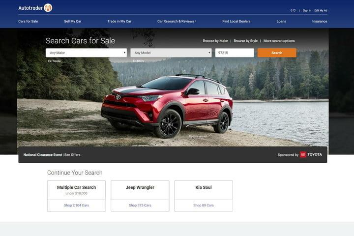 The Best Used Car Websites Of 2018
