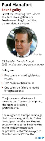 Factfile on Paul Manafort