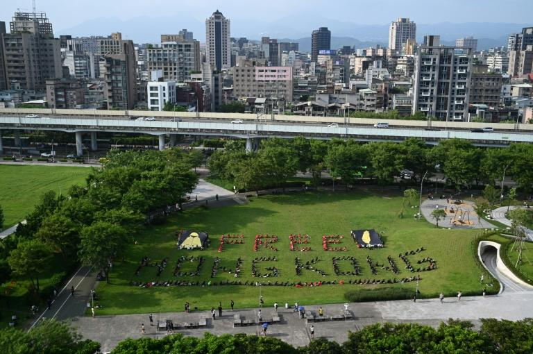 There is widespread support in Taiwan for the pro-democracy protests in Hong Kong