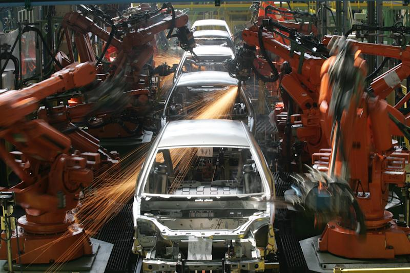 In this March 6, 2008 photo, Ford Ka cars are assembled in Sao Bernardo do Campo, Brazil. The Ford Ka hatchback sold in Europe scored a high safety rating of four out of five stars when it was tested by Euro NCAP in 2008; its Latin American version scored one star. Ford acknowledged that particular Ka is built on an outdated platform, and said it cannot be compared with the European version of the same name. More than 10,000 cars roll off the local assembly lines of the industry's biggest automakers a day. The country is now the fourth largest auto market in the world. But experts say thousands of Brazilians are dying every year in auto accidents that in many cases shouldn't have proven fatal. (AP Photo/Andre Penner)