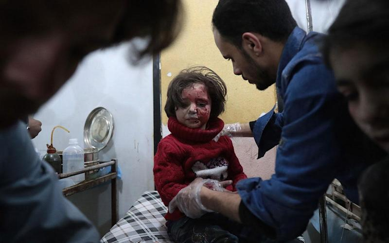 Dozens of chemical attacks have been carried out in Syria since the 2013 Ghouta attack former US President Barack Obama called a 'red line': AFP