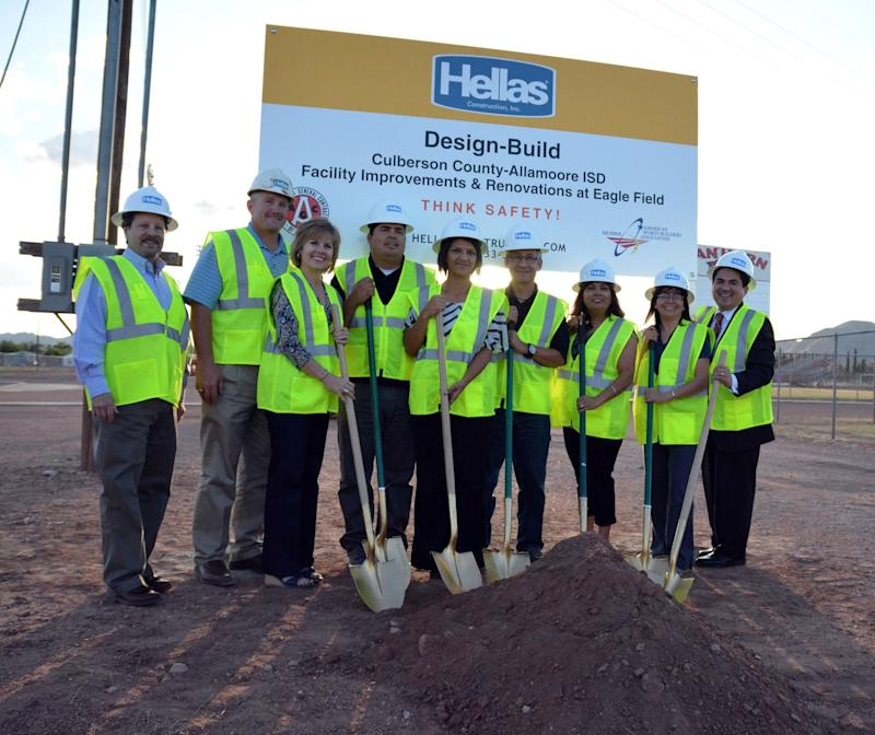 Small Town, Big Stadium: Hellas Construction Working on Culberson County-Allamore Independent School District's New Stadium