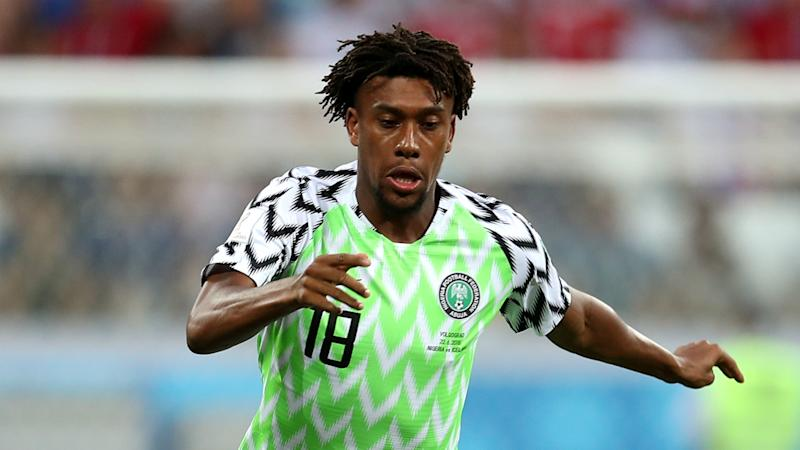 Arsenal's Iwobi leads early arrivals in Nigeria camp for Seychelles clash