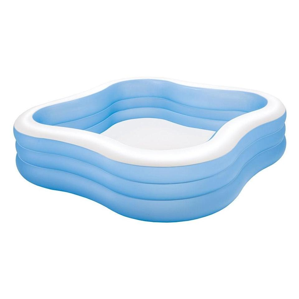 """<br><br><strong>Intex</strong> 90"""" X 90"""" X 22"""" Swim Center Family Pool, $, available at <a href=""""https://amzn.to/2xKvEMQ"""" rel=""""nofollow noopener"""" target=""""_blank"""" data-ylk=""""slk:Amazon"""" class=""""link rapid-noclick-resp"""">Amazon</a>"""