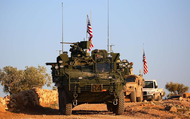 US forces are patrolling between the Turks and the Syrian rebels to try prevent more violence - AFP or licensors