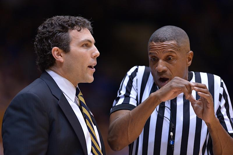 Referee Ted Valentine Talks With Georgia Techu0027s Josh Pastner During The  Game Against Duke Earlier This Season. (Getty)