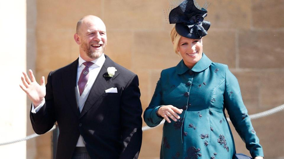 Zara and Mike Tindall have named their new daughter [Photo: Getty]