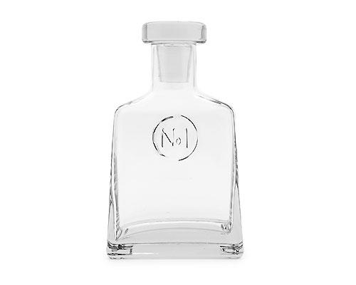 "<b>No 1. Decanter</b> <br><br>Designed in-house and exclusive to Indigo, the clear glass No. 1 Decanter will make a handsome addition to the at-home bar. Featuring embossed detailing and a glass lid, it makes a great gift for someone special or your holiday host. Measures 3 x 5 x 8.5-inches. 1 litre / 1000 ml. Suggested retail price $39.50, available in-store at Indigo locations across Canada and online at <a target=""_blank"" href=""http://www.chapters.indigo.ca/home/"">indigo.ca</a>."