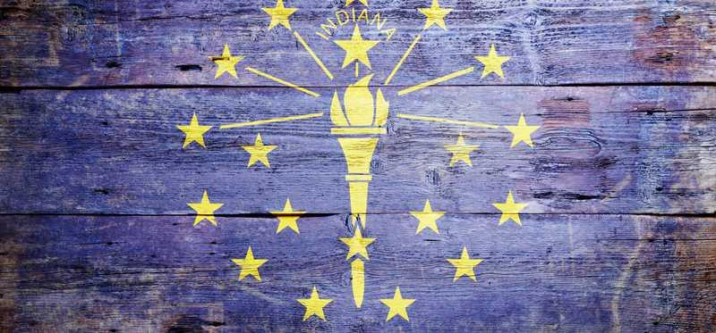 Indiana state flag.