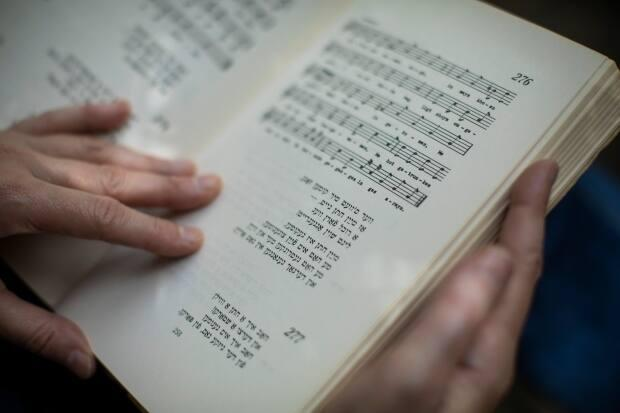 Canada's only Yiddish choir is featured in an exhibit this month at the Jewish Museum and Archives of B.C. in Vancouver as the museum celebrates it's 50th anniversary. (Ben Nelms/CBC - image credit)