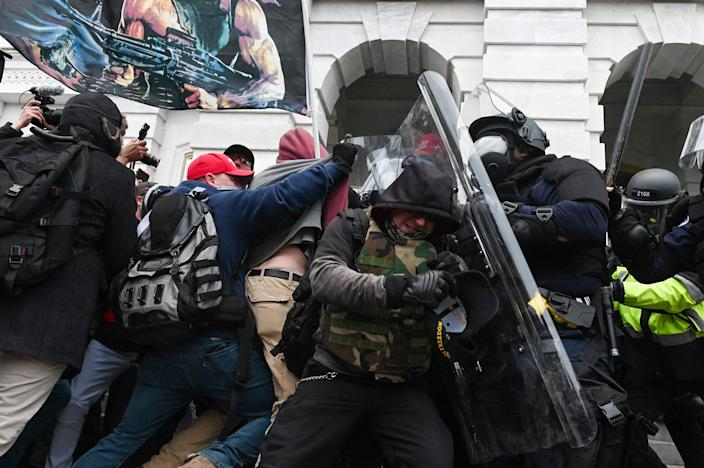 Image: Riot at the Capitol (Roberto Schmidt / AFP - Getty Images)