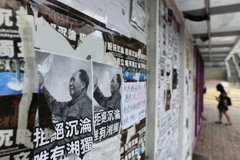 As term kicked off earlier this month, posters and banners calling for semi-autonomous Hong Kong to split from the mainland were plastered on walls and bulletin boards aftera tense summer that saw pro-democracy lawmakers ousted and leading activists jailed