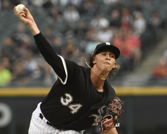 Chicago White Sox starting pitcher Michael Kopech needs Tommy John surgery and is out for the season. (AP)