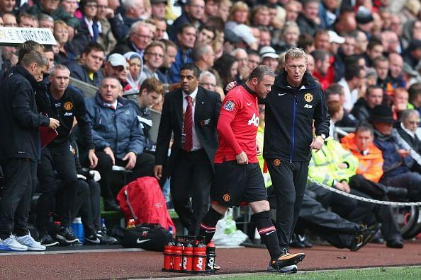 David Moyes's is playing it safe after Wayne Rooney's injury