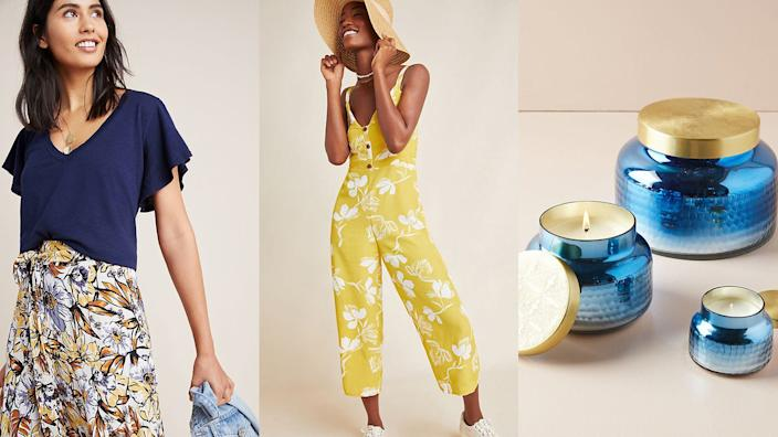 We and our readers never miss a sale at Anthropologie.