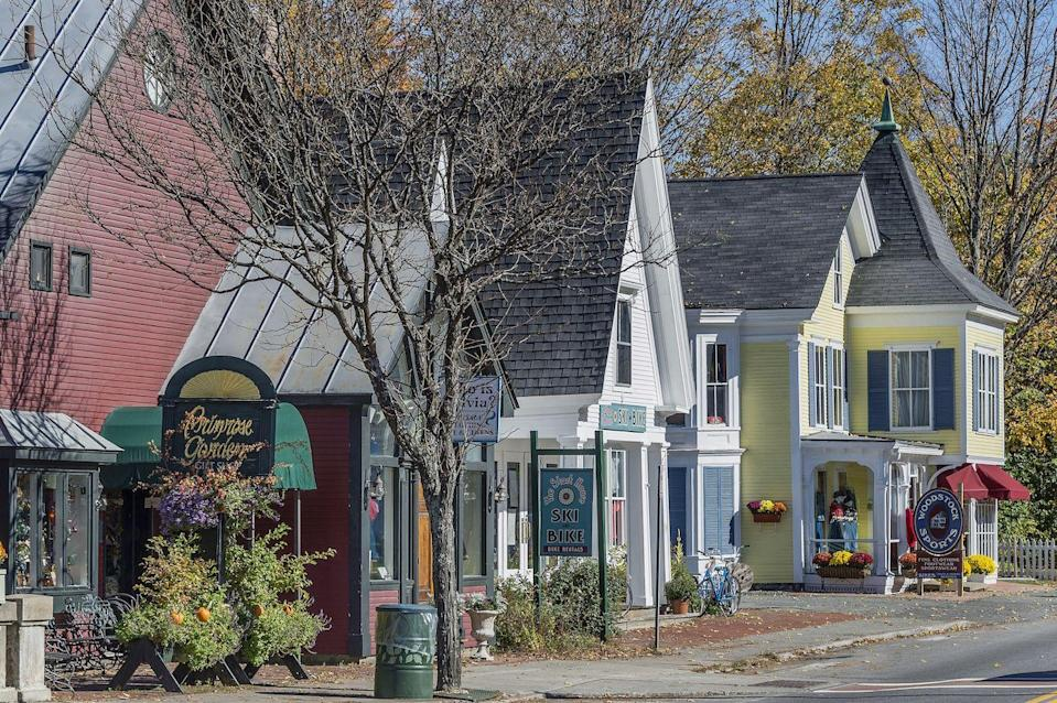 """<p>This shire town has long attracted shoppers and visitors who want to take in the <a href=""""https://www.woodstockvt.com/"""" rel=""""nofollow noopener"""" target=""""_blank"""" data-ylk=""""slk:year-round-gorgeous scenery"""" class=""""link rapid-noclick-resp"""">year-round-gorgeous scenery</a> and shop the area's charming small businesses. It's home-y feel embraces visitors while retaining local character, with <a href=""""https://www.woodstockvt.com/upcoming-events"""" rel=""""nofollow noopener"""" target=""""_blank"""" data-ylk=""""slk:plenty of events"""" class=""""link rapid-noclick-resp"""">plenty of events</a> where you can meet neighbors (or make a new friend). The second annual <a href=""""https://www.woodstockvt.com/upcoming-events#!/107508-second-annual-lobsters-on-the-green"""" rel=""""nofollow noopener"""" target=""""_blank"""" data-ylk=""""slk:Lobster on the Green"""" class=""""link rapid-noclick-resp"""">Lobster on the Green</a> is sure to attract a crowd.</p><p><a href=""""https://www.housebeautiful.com/lifestyle/g2956/beautiful-places-bucket-list/"""" rel=""""nofollow noopener"""" target=""""_blank"""" data-ylk=""""slk:21 places that should be on your bucket list »"""" class=""""link rapid-noclick-resp""""><em>21 places that should be on your bucket list »</em></a></p>"""
