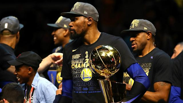 Golden State Warriors star Kevin Durant recorded a triple-double in Friday's 108-85 game-four victory over the Cleveland Cavaliers.