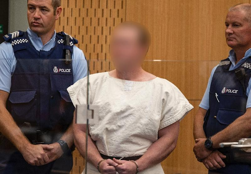 In addition to the terror charge, Brenton Tarrant also faces 51 charges of murder and 40 of attempted murder over the March 15 the Christchurch mosque attacks