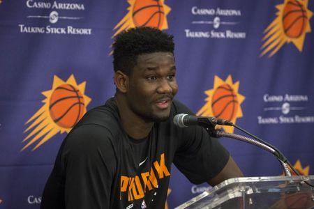 NBA: Deandre Ayton Press Conference