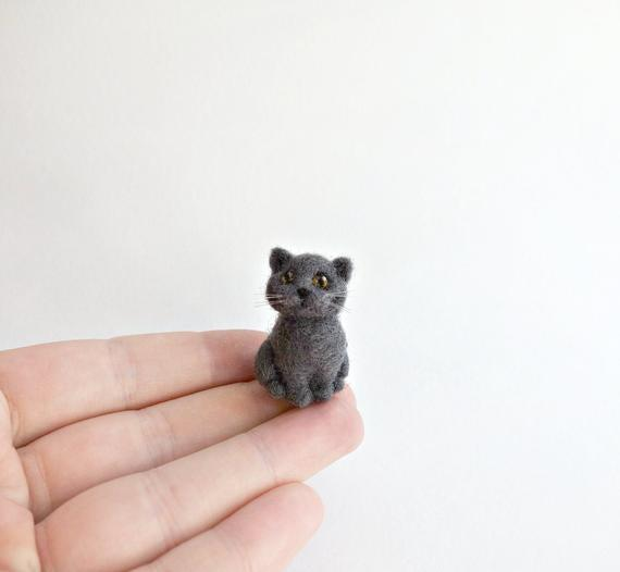"<h2>Needle Felted British Shorthair <br></h2>The next best thing to being an IRL cat parent. Or you could gift it to your own cat. So meta!<br><br><strong>HandmadeByNovember</strong> Needle Felted British Shorthair, $, available at <a href=""https://go.skimresources.com/?id=30283X879131&url=https%3A%2F%2Fwww.etsy.com%2Flisting%2F787891294%2Ftiny-needle-felted-british-shorthair-cat"" rel=""nofollow noopener"" target=""_blank"" data-ylk=""slk:Etsy"" class=""link rapid-noclick-resp"">Etsy</a>"