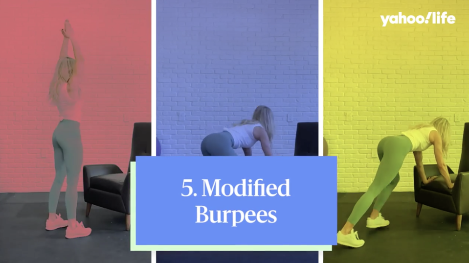Your shoulders are about to feel the burn. (Photo: Yahoo Life)
