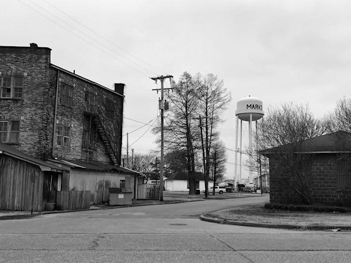 Martin Luther King Jr., picked Marks, Miss., the poorest community in the country, as the launch site of his Poor People's Campaign in 1968. Fifty years later, the town continues to struggle. (Photo: Holly Bailey/Yahoo News)