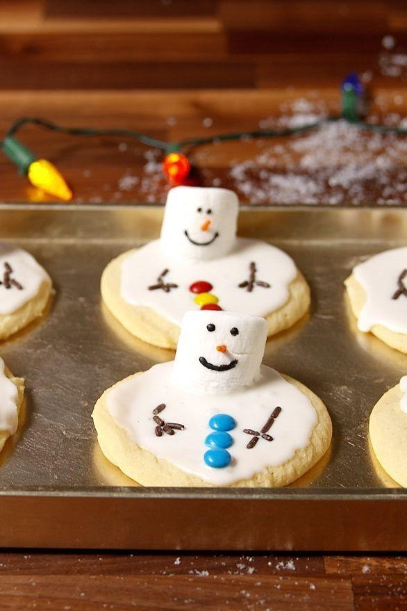"""<p>*Guaranteed to melt your heart*</p><p>Get the <a href=""""https://www.delish.com/uk/cooking/recipes/a29683230/melted-snowman-cookies-recipe/"""" rel=""""nofollow noopener"""" target=""""_blank"""" data-ylk=""""slk:Melted Snowman Cookies"""" class=""""link rapid-noclick-resp"""">Melted Snowman Cookies</a> recipe.</p>"""