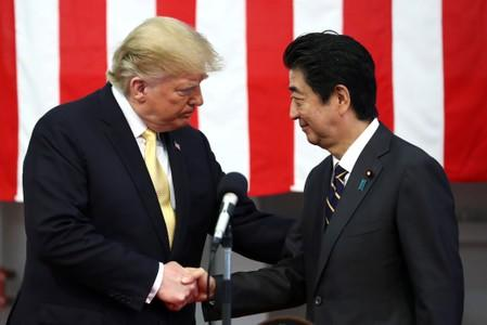 Trump reassures Tokyo he will stick with security pact: Japan government