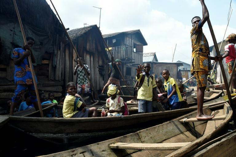 Many in Lagos' coastal community of Makoko were living poverty before the pandemic started