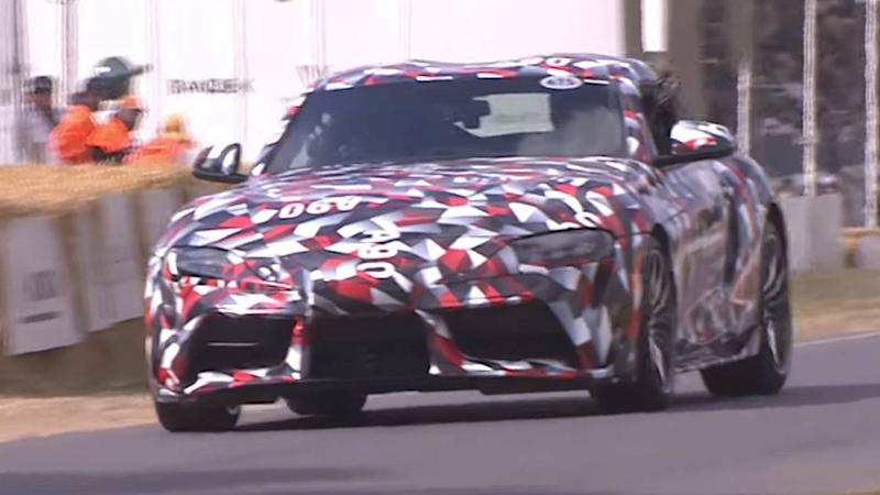 Toyota Supra prototype at Goodwood FoS