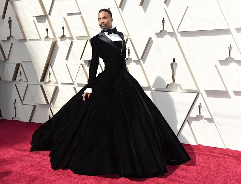Billy Porter at the Dolby Theatre in Los Angeles on Sunday night. (Photo: Associated Press)