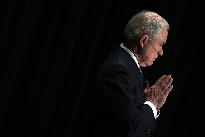 Attorney General Jeff Sessions. (Alex Wong via Getty Images)