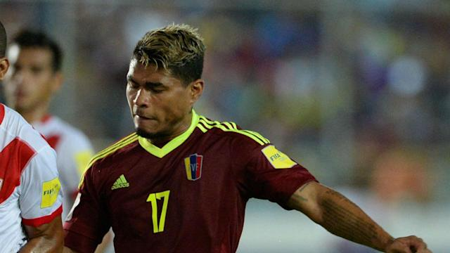 The striker was substituted off in the second half of Venezuela's World Cup qualifying match and is expected to be out at least 10 days