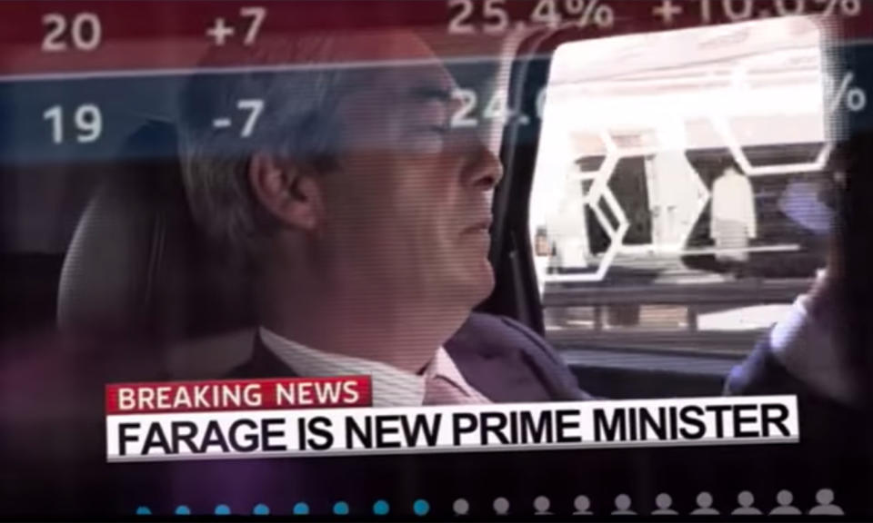 Viewers said drama 'UKIP: The First 100 days' was 'misleading, offensive and biased' (Channel 4)