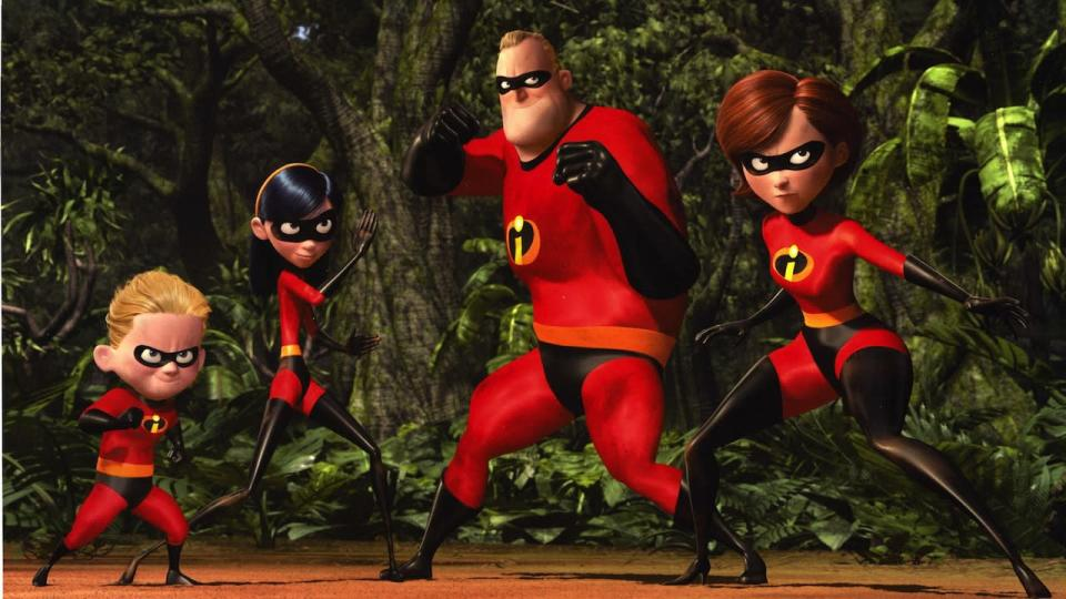 <p> <strong>The movie: </strong>Bob and Helen Parr have three children and live in a nondescript suburb. Bob works in insurance and Helen is a dutiful housewife. However, they have a secret past: they used to be the superheroes Mr Incredible and Elastigirl, fighting baddies and saving the world on a weekly basis before superheroes were banned and forced to go into hiding. Bob, nostalgic for his past glory, sees an opportunity to don the supersuit again, but this time it puts his whole family in danger. </p> <p> <strong>Why the family will love it: </strong>Along with the X-Men and Spider-Man franchises of the early-noughties, The Incredibles ignited a fire in children's hearts around the world, and that fire is being stoked and nurtured still today by several superhero films every year. The Incredibles riffs perfectly on '60s spy movies for a stylish, adrenaline-filled adventure. And if you're worried it might be 'scary' for tiny tots, take it from this writer: yours truly's son has watched this and Incredibles 2 approximately once a week since well before his third birthday, still without a </p>