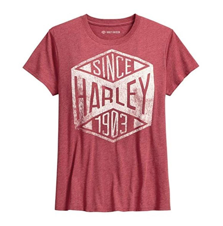 Harley-Davidson Official Women's Since 1903 Tee. (Photo: Amazon)