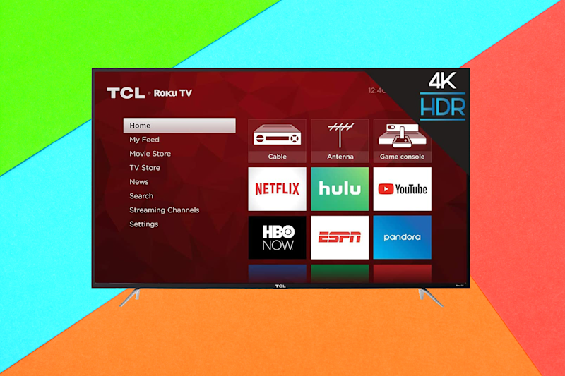 Save $101 on this TCL 43-inch 4K Smart LED Roku TV. (Photo: Amazon)