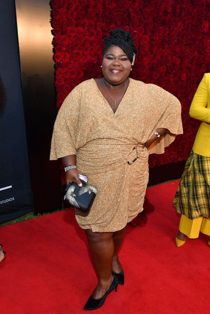 """<p>Another actress who decided to go for bariatric surgery, Gabourey Sidibe, 37, said her decision to get the surgery came down to her diabetes diagnosis and struggles with years of trying to lose weight. """"I'm glad that I finally realized that the surgery wasn't the easy way out,"""" she told <a href=""""https://people.com/bodies/10-celebrities-who-were-honest-about-having-weight-loss-surgery/#gabourey-sidibe"""" rel=""""nofollow noopener"""" target=""""_blank"""" data-ylk=""""slk:People"""" class=""""link rapid-noclick-resp""""><em>People</em></a>. """"I wasn't cheating by getting it done. I wouldn't have been able to lose as much as I've lost without it."""" </p>"""
