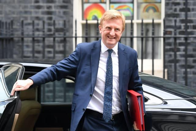 """Oliver Dowden says government is """"opening the door"""" for football to resume (Stefan Rousseau/PA)"""