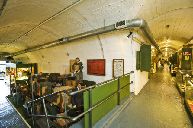 Set in a complex of air-conditioned tunnels built by German forces in World War Two, La Valette Underground Military Museum is a must-see for history buffs.