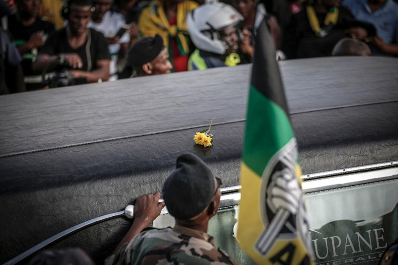 Crowds of S.Africans lay to rest 'Mama' Winnie Mandela