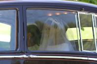 Meghan Markle leaves the Cliveden House Hotel, accompanied by her mother, Ms Doria Ragland, ahead of her wedding to Prince Harry at St George's Chapel at Windsor Castle in Windsor, Britain, May 19, 2018. Rick Findler/Pool via REUTERS