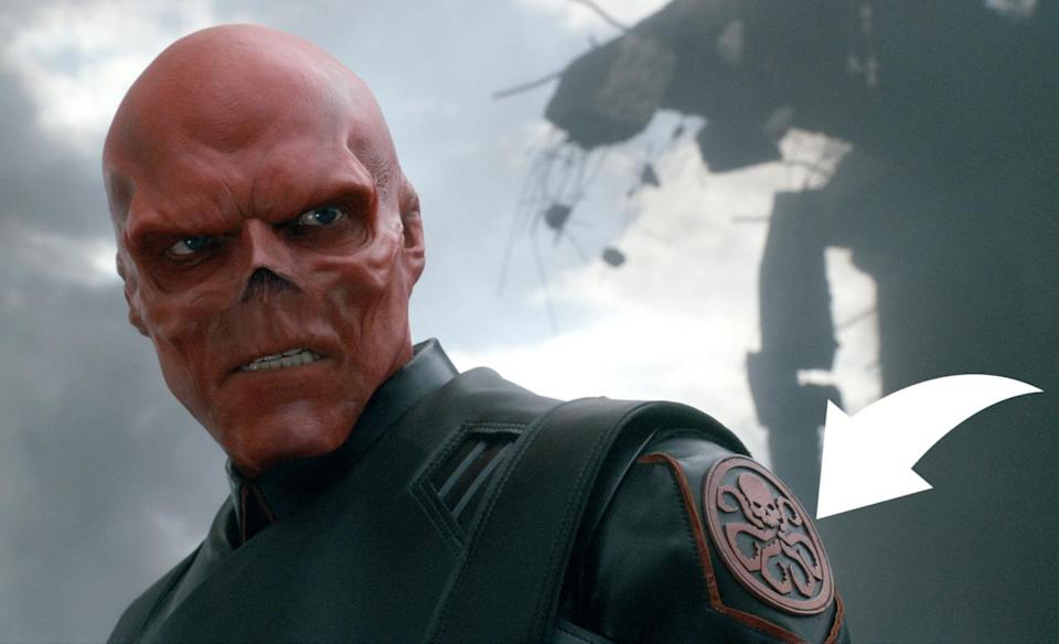 Hugo Weaving plays Red Skull in CAPTAIN AMERICA: THE FIRST AVENGER, from Paramount Pictures and Marvel Entertainment.