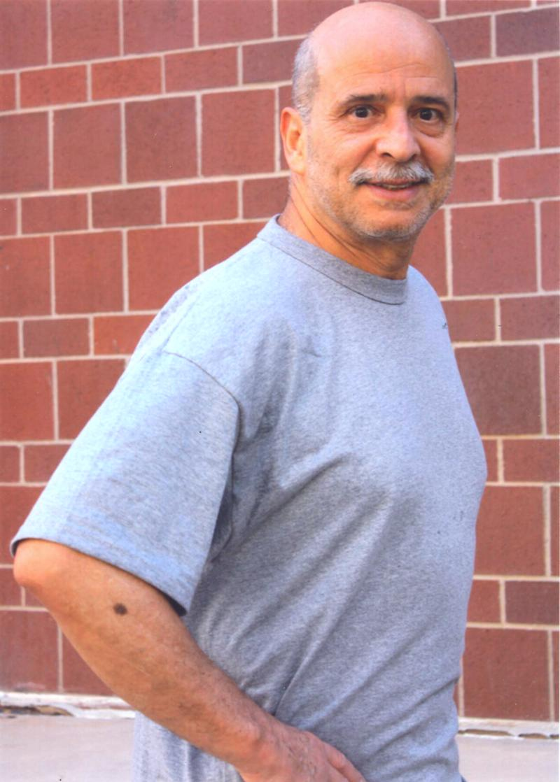 In this Aug. 8, 2012 photo provided by Jaime Palmera, is seen jailed rebel Ricardo Palmera, alias Simon Trinidad, at the U.S. federal penitentiary in Florence, Colorado.  Palmeraís journey from the Colombia's highest social circles to jungle battlegrounds and finally to a U.S. prison mirrors the complexity of the confrontation that the talks starting this week in Cuba are meant to end. The Revolutionary Armed Forces of Colombia, or FARC, considers him a prisoner of war. (AP Photo/Courtesy of Jaime Palmera)