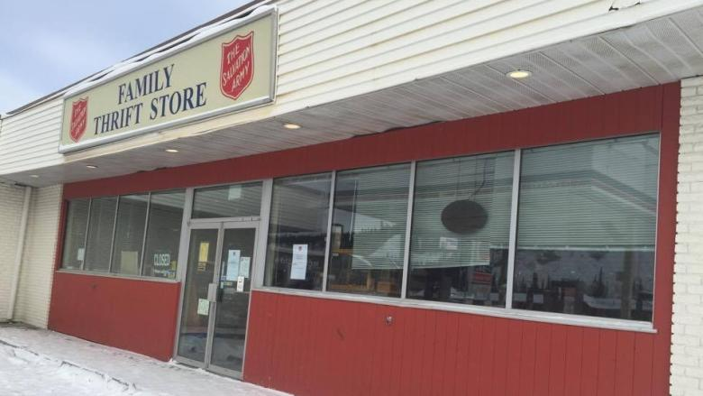 Salvation Army closing its Whitehorse thrift store