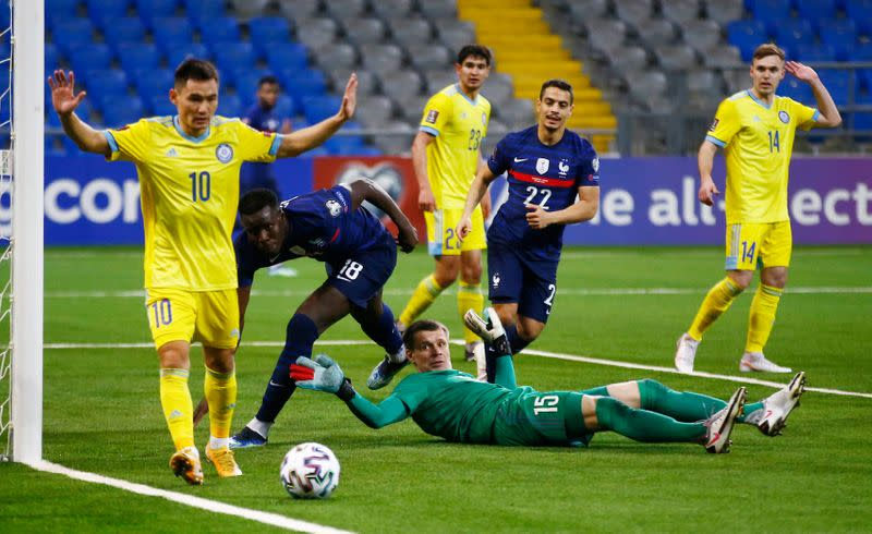 World Cup Qualifiers Europe - Group D - Kazakhstan v France
