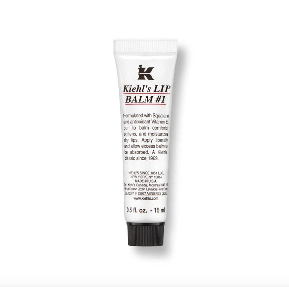 """<p>""""I'm obsessed with the <span>Kiehl's Lip Balm #1</span> ($10) in Mint. It has the most refreshing feel and is perfect for chapped Winter lips. The Mint flavor gives it a cooling feel. I don't go anywhere without it."""" - Perri Konecky, editor, Trending and Viral Features </p>"""